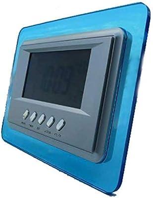 Soytich LCD Reloj Digital Despertador Estación Meteorológica ...