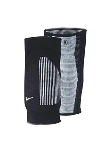 Coppia Ginocchiere Volley Pallavolo NIKE Fit Dry Skinny Nero Imbottite elastiche