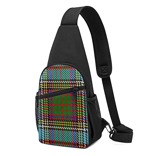 scottish_clan_anderson_tartan_plaid_scarf-r0224600c9a584c969ea6a19b85955360_eqdm8_49200 Bolsa de senderismo con múltiples bolsillos Mochila bandolera ajustable para hombre