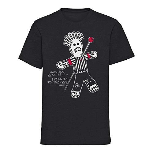 SCALLYWAG® Eishockey T-Shirt Voodoo Ref I Größen XS - 3XL I A BRAYCE® Collaboration (Eishockey Ausrüstung) (XXL)