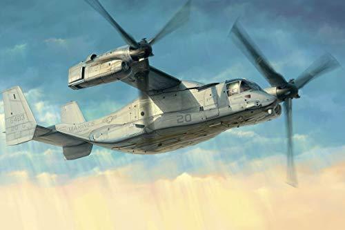 ホビーボス 1/48 エアクラフトシリーズ アメリカ海兵隊 MV-22オスプレイ プラモデル 81769