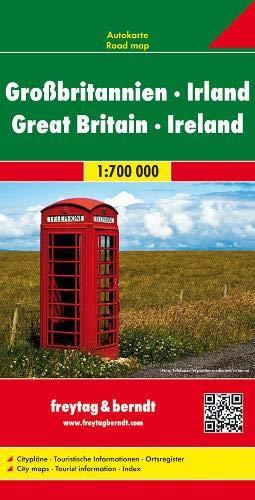 Gran Bretagna-Irlanda 1:700.000: Wegenkaart 1:700 000