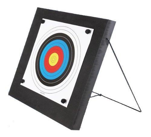 Zielscheibe Foam 60 x 60 cm mit Ständer und Auflage