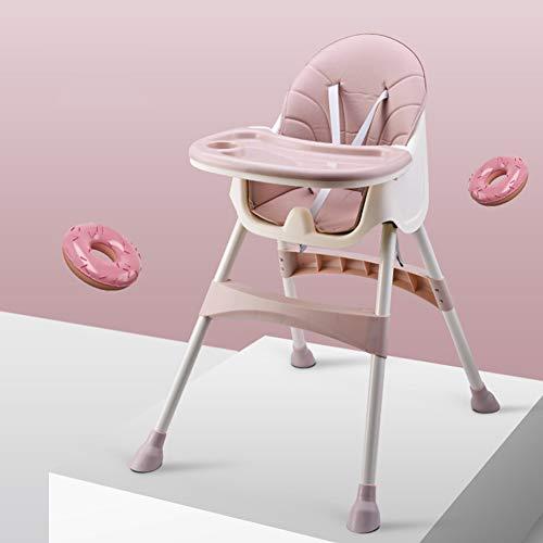 Hegpd Multifunctionele draagbare kunststof voering, stoel voor baby pasgeborenen, kinderzitje, eetstoel, verstelbare klapstoelen