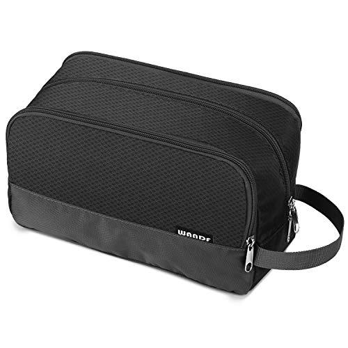 Toiletry Bag Small Nylon Dopp Kit Lightweight Shaving Bag for Men and...