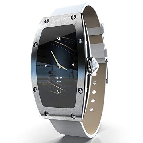 YYZ Smart Watch Female Health Monitor Queen Heart Rate Monitor de presión Arterial Monitor de Llamada entrante Call Reminder Smart Watch,C