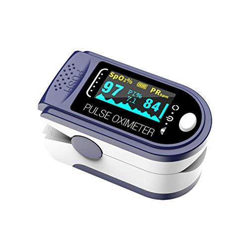 Oxímetro de Pulso, Pulsioximetro de Dedo Profesional saturacion oxigeno oxímetro con pantalla OLED