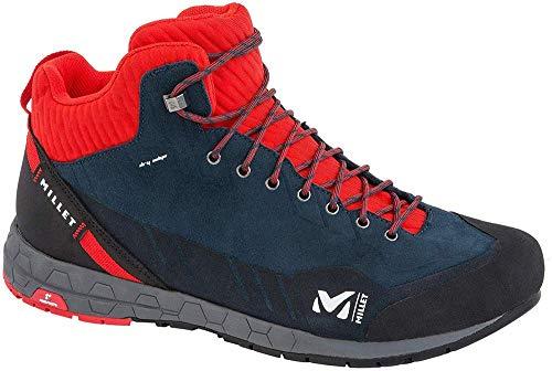 MILLET Herren Amuri Leather Mid Dry M Trekking- & Wanderschuhe, Blau (Orion Blue/Fire 9041), 41 1/3 EU