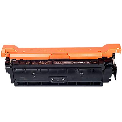 CE250A Cartucho de Tóner, AHXN de Alta Capacidad HD con Chip para HP 504A CP3525N 3525X CM3530 Color Printer Cartridge, color negro size