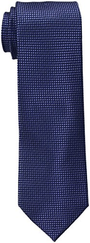 Tommy Hilfiger Men's Navy Ties, Micro Navy, One Size