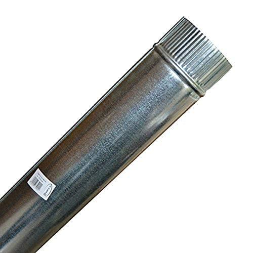 Theca 7500004 Tubo acero chapa galvanizada, Multicolor, 110 mm