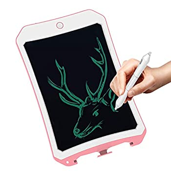 8.5 Inch Graffiti Board Doodle Pad Toys for Kids JRD&BS WINL LCD Writing Tablet with Stylus Smart Paper for Drawing Writer Birthday Gifts for 6-9 Years Old Kids & Adults  Pink-White