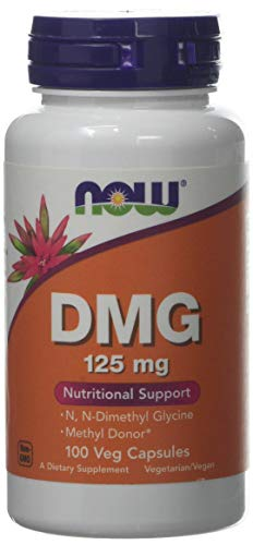 Now Foods DMG (Dimethylglycine) Capsules, 125 mg, 100-Count