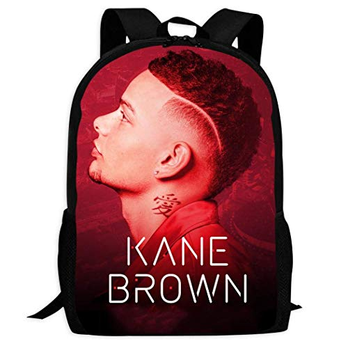 XCNGG Ka-ne Brown Kids Backpack Funny Bookbag Durable Travel Backpacks School Bags for Boys Girls