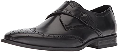 Unlisted by Kenneth Cole Men& 039;s Bryce Monk-Strap Loafer, schwarz, 12 M US
