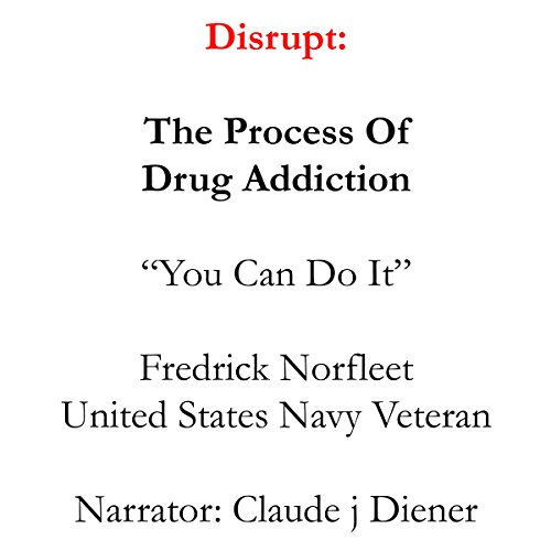 Disrupt audiobook cover art