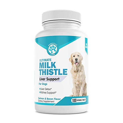 Top 10 best selling list for natural liver supplement for dogs