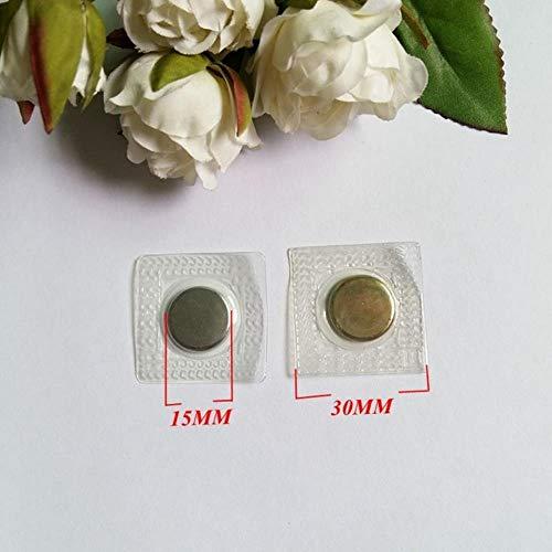 10 stks Onzichtbare Verborgen Metalen Magnetische Knoppen Snap Magneet Bevestiging Handtas Doek Sluiting DIY Naaigereedschap Magnetische Knop Snaps 15 mm.