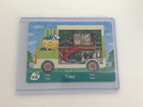Toby - S6 - ENGLISH VERSION - Nintendo Animal Crossing New Leaf Sanrio amiibo Card