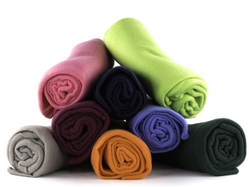 Imperial 50 x 60 Inch Ultra Soft Fleece Throw Blanket Wholesale Case Pack 12