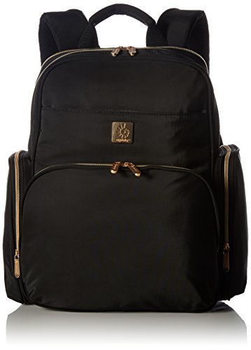 Ergobaby Anywhere I Go Diaper Bag Backpack, Black