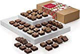 Fairytale Brownies Christmas Magic Morsel 48 Gourmet Chocolate Food Gift Basket - 1.5 Inch x 1.5 Inch Bite-Size Brownies - 48 Pieces - Item LC448