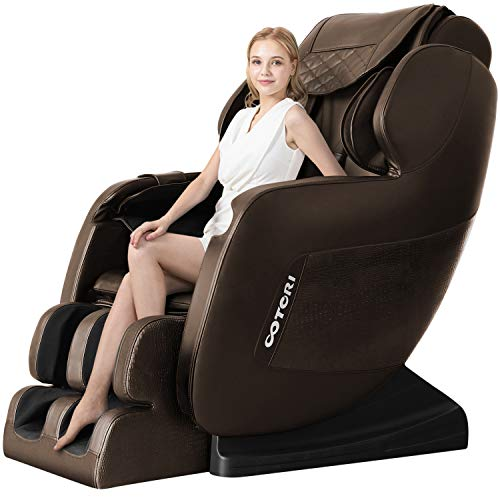 Find Discount 3D Robot Hand Massage Chair Deluxe S-Track Recliner with Full Body Air Massage Chair &...