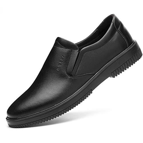 Zapatos de Seguridad de Electricista Hombre Mujer Ligeros Comodo Cuero Zapatos de Trabajo Electricidad Aislamiento 16KV No Conductivo Transpirables Impermeable Antideslizante Botas Negro,1,38 EU