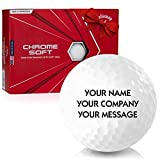 Callaway Golf 2020 Chrome Soft Personalized Golf Balls