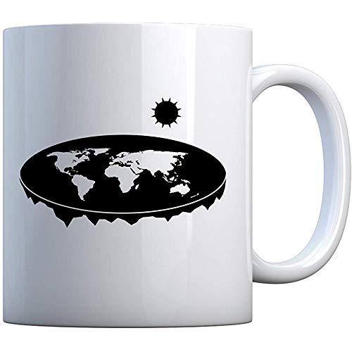 Becher Flache Erde 11oz Pearl White Gift Mug