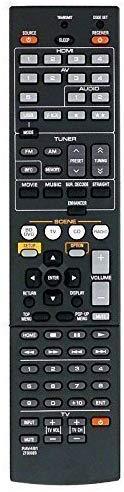 LR General Fernbedienung passend für 491B RX-A3040 RX-A2040 RX-V775 RX-V1075 RAV510 ZK066000 RX-A470 RX-A470BL RX-V677 RX-V673BL für Yamaha AV-Receiver