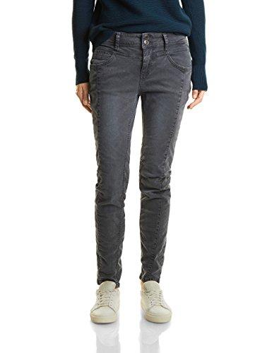 Street One Damen 370911 Rob Slim Jeans, Grau (Neo Grey Authentic Wash 11129), W33/L32