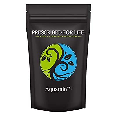 Prescribed for Life Trace Minerals - AquaMin (F) Natural Marine Calcium & Trace Mineral Complex ING: Organic Powder