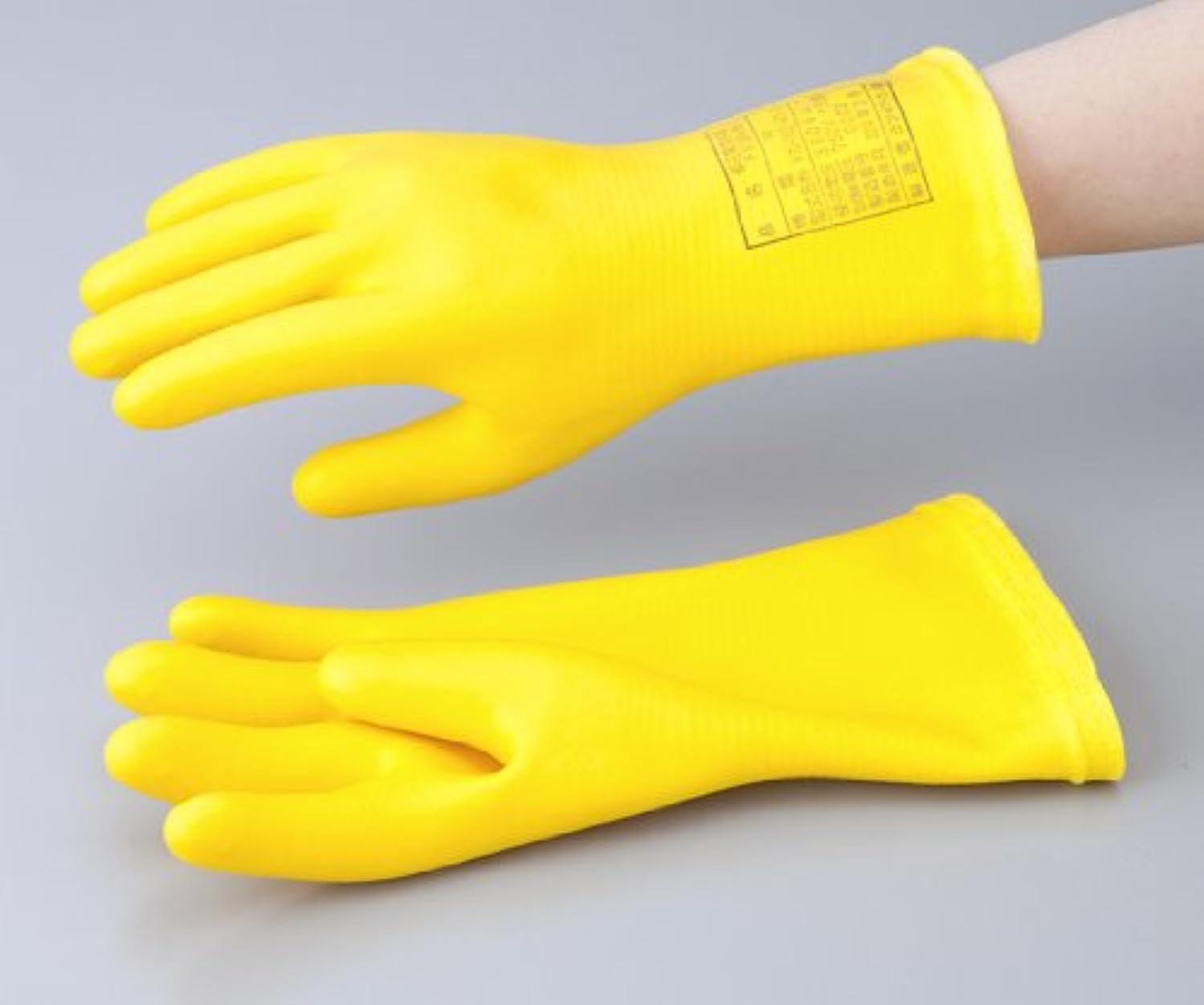 環境に優しい湾ピルファー1-3686-03低圧用発泡手袋M