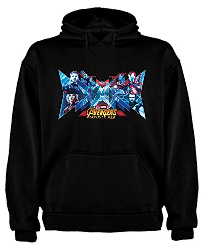 Sudadera de Hombre Avenger Hulk Thor Capitan America M