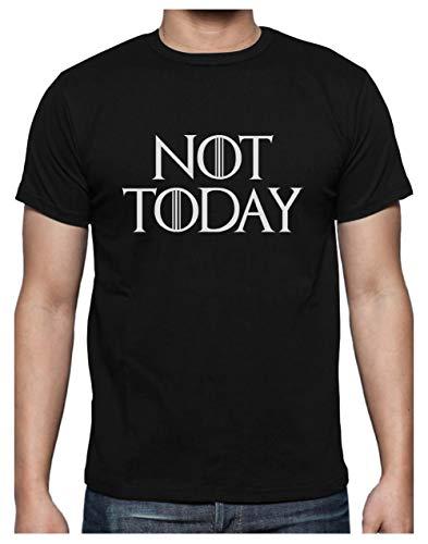 Green Turtle Camiseta para Hombre - Camiseta Juego de Tronos Hombre - Not Today - XX-Large Negro