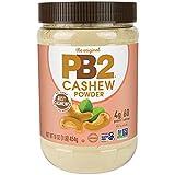 PB2 Powdered Cashew Butter - Cashew Powder with No Added Sugar or Salt [1 Lb/16oz Jar]