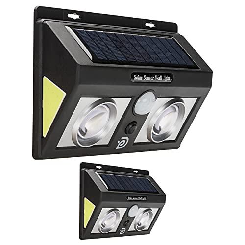 Dss Life Solution Faretto Led Da Esterno Solare Luci Da Esterno Giardino Solari | Lampade Solari Da Giardino Faretti Led Con Sensore Di Movimento