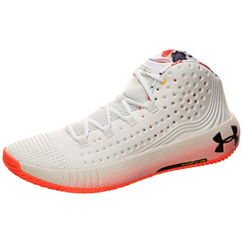 Under Armour HOVR Havoc 2 - Zapatillas de baloncesto para hombre, Blanco, 13.5 US - 48 EU - 12.5 UK
