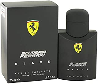 Fêrrárí Scuderia Black by Fêrrárí for Men Eau De Toilette Spray 2.5 oz