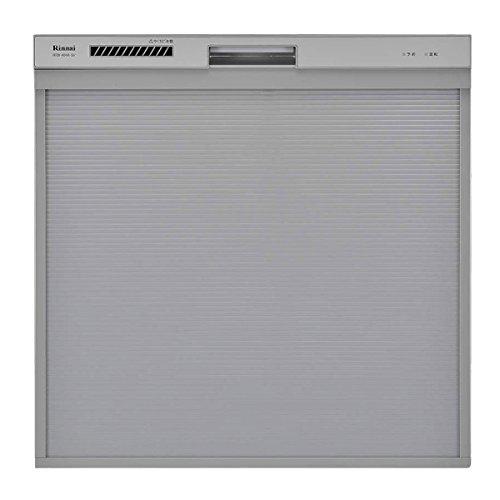 リンナイ『ビルトイン食器洗い乾燥機 シルバー スライドオープンタイプ(RKW-404A-SV)』