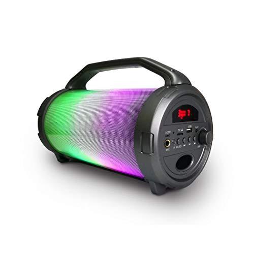 MISIK MS255 Bocina Bluetooth con Karaoke, USB, SD