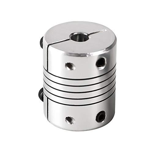 NIANZAI Hongfubang - Acoplador de motor de acoplador flexible de aluminio de 6 mm/8 mm/10 mm D32L40 (color 6 mm8 mm)