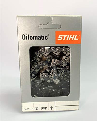 Cadena motosierra Stihl 62 eslabones espesor 1.6mm. Acero micro. Producto Original Stihl