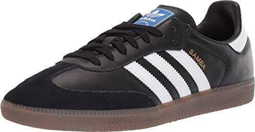 adidas Originals Men's Samba OG Sneaker Black/White/Gum 4