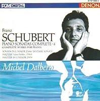 Schubert: Piano Sonatas Complete Vol 4: Piano Sonata in G Op78, D894, ; Waltzes Valses Nobles, Op. 77 D.969; Sonata in C major, D.279; Allegretto in C Major, D. 346 by Schubert
