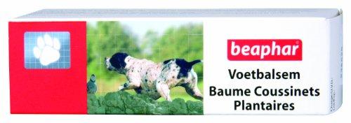 Beaphar - Baume pour les coussinets plantaires, soin des pattes- chien et chat - 40 ml