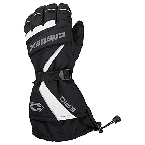 Castle X Epic-G1 Mens Snowmobile Gloves - Gray- LRG