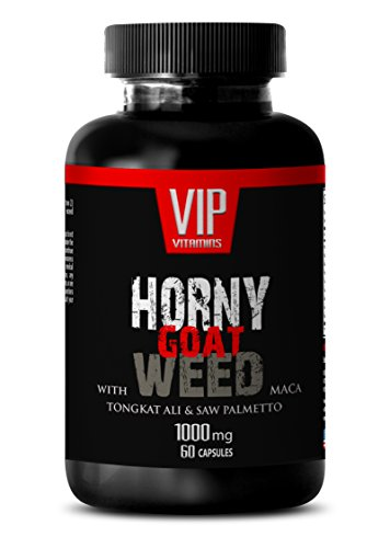 Libido Booster for Men and Women - Horny Goat Weed - Horny Goat Weed Supplement - 1 Bottle 60 Capsules