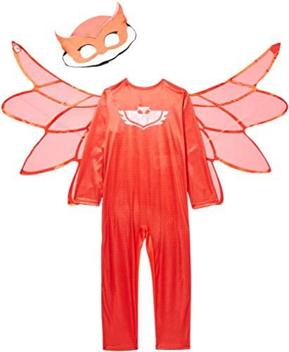 amscan - Disfraz de Owlette de PJ Masks - 9902948 - Color Rojo